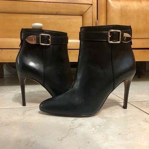 Black Coach stiletto boots